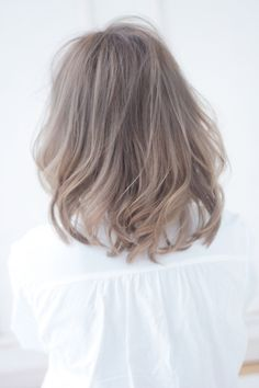 2015 hairstyle see-through bang of missing feeling Carl Midi gradient color | Jiyugaoka-Gakugeidaigaku-Nakameguro Beauty salons ALICe by afloat hair style | Rasysa and (Rashi)