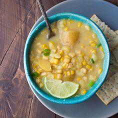 Slow cooker corn potato soup-2