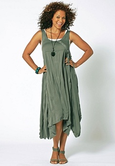 another pretty spring/summer dress - I love the trim on the bodice and the asymmetrical hemline