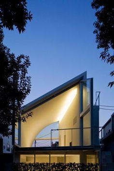 HOUSE AT HANEGI PARK  by Shigeru Ban