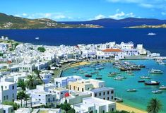 Mykonos, Greece, River, Beach, Places, Greek Islands, Oceans, Outdoor, Content