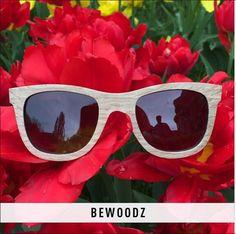Designer Sonnenbrille aus Holz von www.bewoodz.de  #Holzsonnenbrille