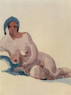 Nude No. I :: Drawings, Paintings & Sculpture  1917