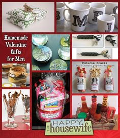 14 Homemade Valentine Gifts for Men   The Happy Housewife