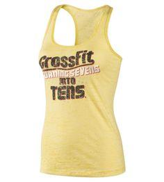 Reebok Women's Reebok CrossFit Her Coach Quote Sevens Tank Sleeveless Tops | Official Reebok Store