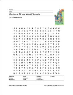 word search castles and armor elementary featuring vocabulary from mary pope osborne 39 s. Black Bedroom Furniture Sets. Home Design Ideas