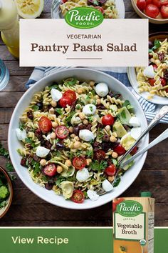 Healthy Recipes, Healthy Snacks, Vegetarian Recipes, Healthy Eating, Cooking Recipes, Eating For Weightloss, Pasta Salad Recipes, Summer Salads, Pasta Dishes