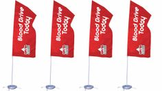 Don't be bothered by small spaces for #advertising. Use this #portable 3x5 flag to highlight your business even in small spaces.
