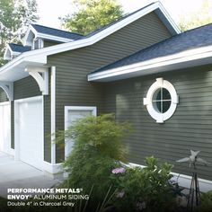 Pebblestone Clay Mastic Siding Exterior Option Home