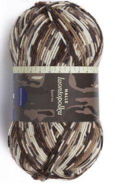 Nalle luontopolku kaarna - one of the yarns on my dream list (not that I need any more yarn...)