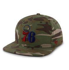 c773f8275ffc Philadelphia 76ers Camouflage Snapback hat