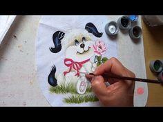 Cachorrinho com Rosa (Aula 44) - YouTube
