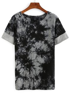 Shop Tie Dye Print T-shirt online. SheIn offers Tie Dye Print T-shirt & more to fit your fashionable needs.
