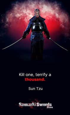 Kill one, terrify a thousand. Strong Quotes, Wise Quotes, Words Quotes, Motivational Quotes, Inspirational Quotes, Dark Quotes, Art Of War Quotes, Fight Quotes, Quotes By Famous People