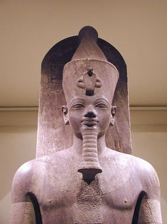 statue of Amenhotep III in Luxor, Egypt Kemet Egypt, Egyptian Pharaohs, Ancient Egyptian Art, Ancient Aliens, Ancient History, Egyptian Mythology, Tudor History, Luxor Egypt, British History