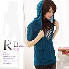 Inset Top Hooded Pullover from #YesStyle <3 RingBear YesStyle.com