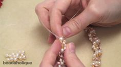 Video:  How to Do Spiral Rope Stitch.  Make a Bracelet or Necklace.  #Seed #Bead #Tutorials