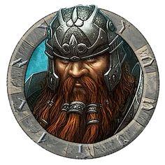 m Dwarf Fighter Hvy Armor Helm portrait Tharbrem sm token
