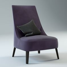 #CG - MAXALTO - FEBO EASY CHAIR - Antonio Citterio
