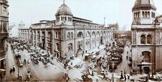 Zentralmarkthallen,Neue Friedrichstrasse Ecke Kaiser-Wilhelm-Strasse um 1900