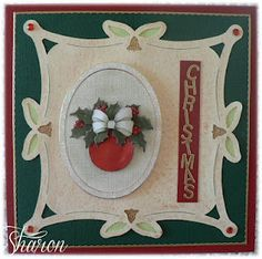 Christmas Luxury Card Layer Card
