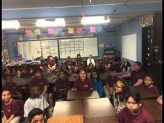 Mike's WeatherNutz at Innovations International Charter School in Las Ve...