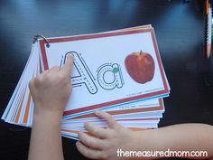 Help kids remember letters with this free alphabet tracing book! – The Measured Mom Print this free alphabet tracing book for students who struggle with learning the alphabet! Preschool Learning Activities, Letter Activities, Kindergarten Literacy, Toddler Learning, Preschool Activities, Alphabet Tracing, Alphabet Book, Learning The Alphabet, Lectures
