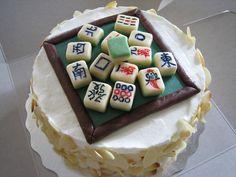 Birthday Mah Jong | by Sweet Invitations Cakes