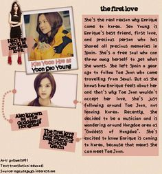 Flower Boy Next Door ♥ Kim Yoon-hye as Enrique's ex.