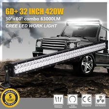 2X 32inch LED Light Bars Combo Spot Flood Offroad Truck 4x4WD ATV SUV 30//34/'/'