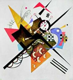 Wassily Wassilyevich Kandinsky was an influential Russian painter and art theorist. He is credited with painting the first purely abstract works. Born in Moscow, Kandinsky spent his childhood in Odessa. Kandinsky Art, Wassily Kandinsky Paintings, Painting Frames, Painting Prints, Music Painting, Oil Paintings, Oil Painting Reproductions, Modern Artists, Art Graphique