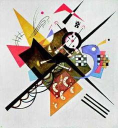 Wassily Kandinsky  Peintre russe et théoricien de l'art  XXe siècle  Fondateur de l'art abstrait