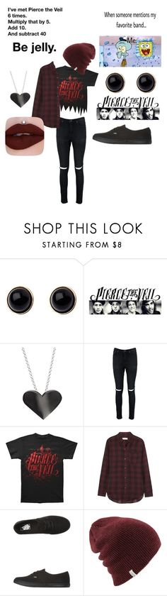 """""""Pierce the veil 🖤"""" by sugar-snakes ❤ liked on Polyvore featuring Adele Marie, Edge Only, Boohoo, Étoile Isabel Marant and Vans"""