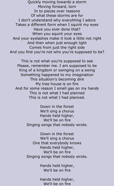 forest twenty one pilots lyrics pt ii - Kitchen Sink Lyrics