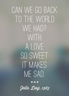 Zella Day. 1965. #lyrics