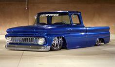 Slammed 66 Chevy