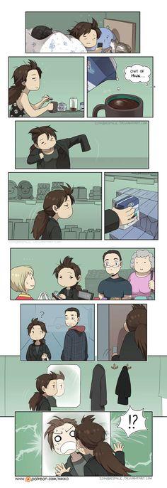 Mini Comics :: Bad Hair Day   Tapas Comics - image 1