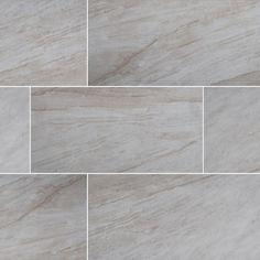 MS International Vigo Gris 12 in. x 24 in. Glazed Ceramic Floor and Wall Tile (16 sq. ft. / case)