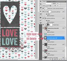 digital scrapbook tutorial simple digital cut-outs