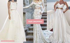 Tendências em Vestidos de Noiva para 2016. #vestidodenoiva #modanoiva #bridal #couture #weddingdress #tendencia2016 #noivinhasdeluxo