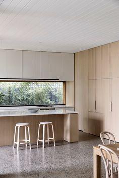 Modern Kitchen Design, Interior Design Kitchen, Room Interior, Cabin Design, House Design, Rich Home, Home Kitchens, Chiba, Architectural Photography