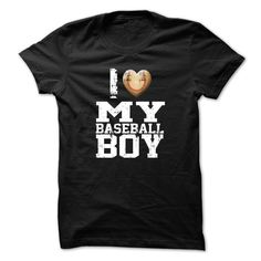I love my baseball boy. Check more at http://baseballtshirtsonline.com/2017/01/01/i-love-my-baseball-boy-2/