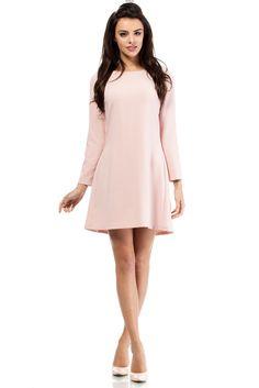 Wizytowa prosta sukienka