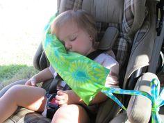 Car Seat Baby Pillow. $25.00, via GracieandAva on Etsy.