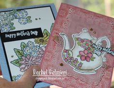 Stampin' Pals: Celebrating Mothers AWH Monthly Creative Showcase