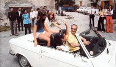 Peugeot 304 Cab & Jacques Chirac