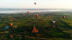 There are over 3000 Buddhist temples all over Bagan that date back over 1000 years. That's 3000 reasons why you need to book your next family holiday to the old Burma: Myanmar. Don't miss all our travel tips at http://www.suitcasesandstrollers.com/interviews/view/bagan-insider?l=all #GoogleUs #suitcasesandstrollers #travel #travelwithkids #familytravel #familytraveltips #traveltips #balloons #history #historicalsites #livinghistory #perspective