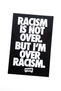 Anti-Racism Bumper Sticker                                                                                                                                                                                 More