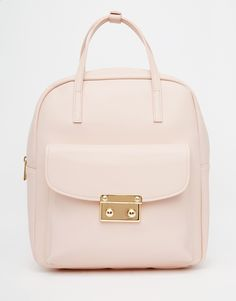 Image 1 of ASOS Front Lock Detail Backpack