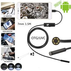 Cheap camera flexible, Buy Quality endoscope camera directly from China borescope camera Suppliers: 2017 New 1 2 Android OTG USB Endoscope Camera Flexible Snake USB Pipe Inspection Android Phone Borescope Camera 6 Led Game Controller, Usb, Action Cam, Security Gadgets, Android Camera, Camera Reviews, Camera Lens, Camera Sale, Portable